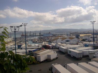Tangier trip port