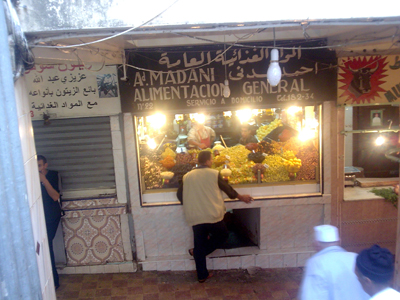 Tangier trip more market