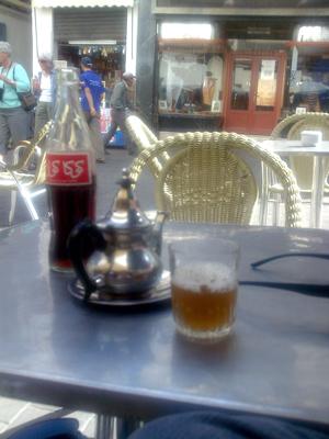 Tangier trip tea