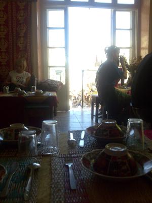Tangier trip restaurant