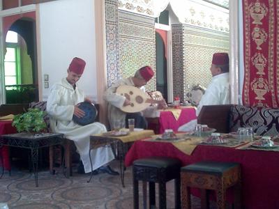 Tangier trip musicians