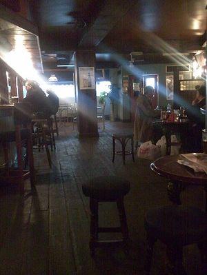 Charlie chaplin pub interior