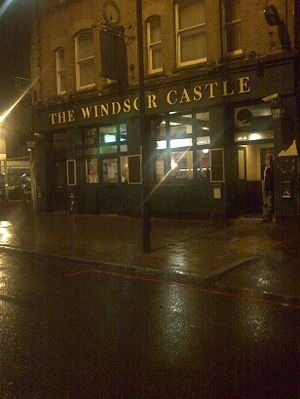 Windsor castle pub exterior
