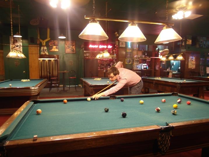 Day 10 pool hall me
