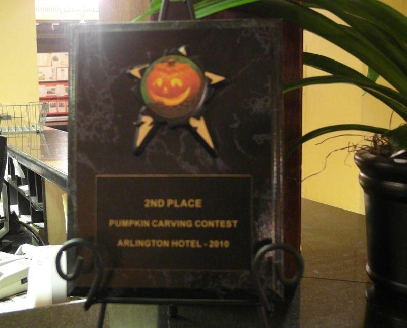 Day 11 arlington pumpkin