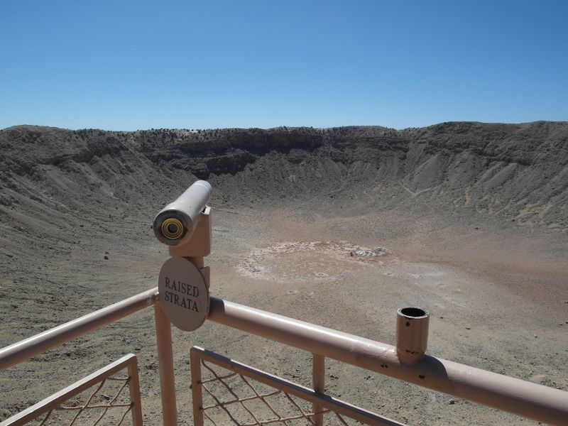 Usa road trip day 16 meteor crater arizona telescope