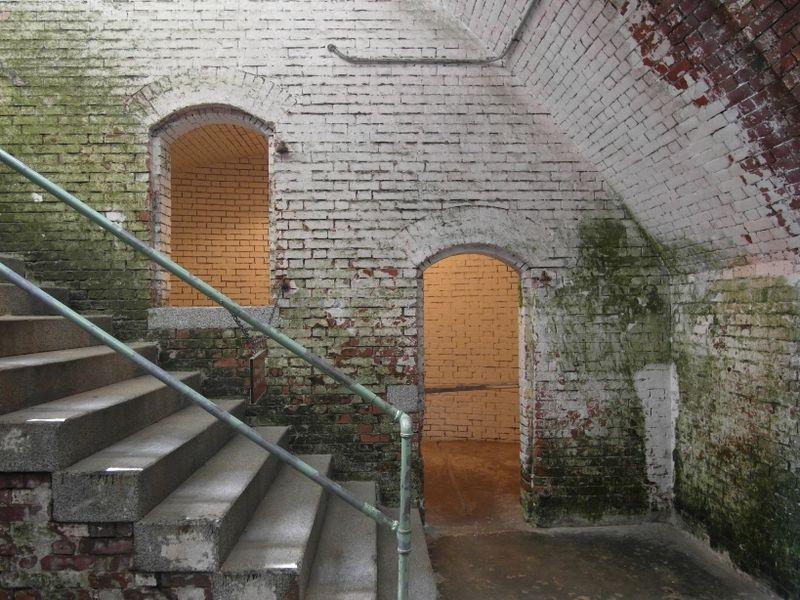 Alcatraz steps