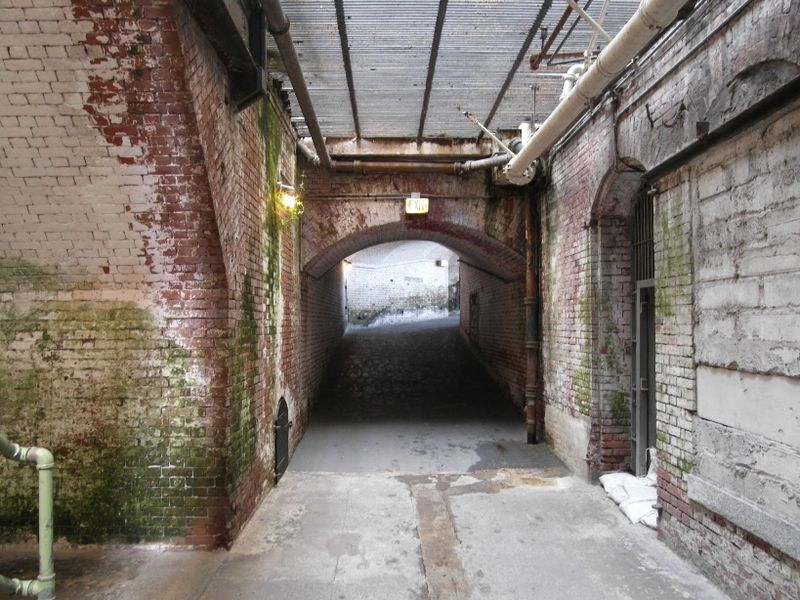 Alcatraz tunnel