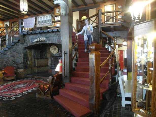 Day 15 el rancho rachel staircase