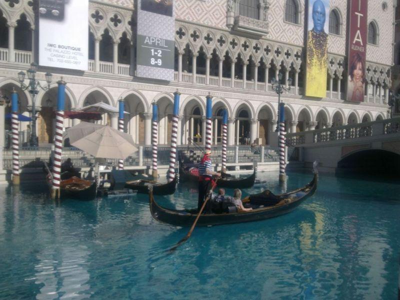 America road trip day 19 vegas gondolas venetian