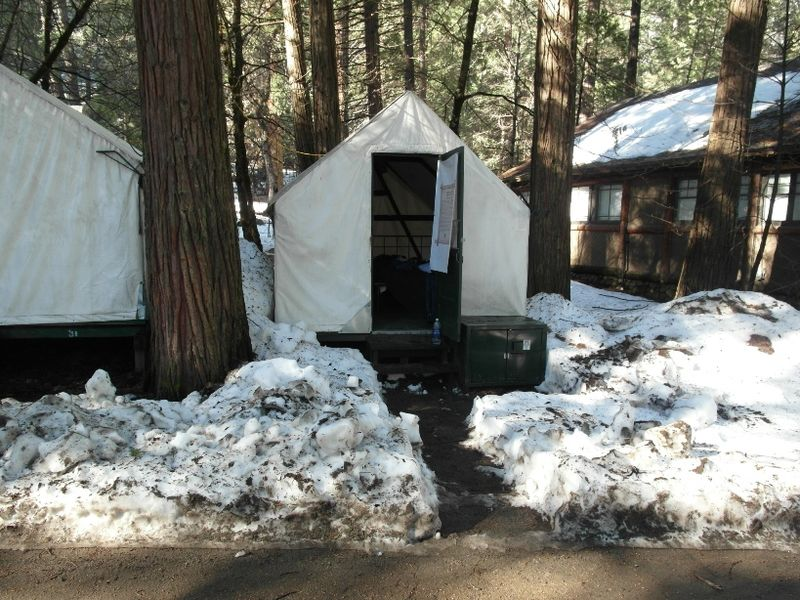 Usa road trip day 25 yosemite unheated tent