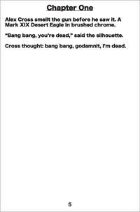 Alex cross novel