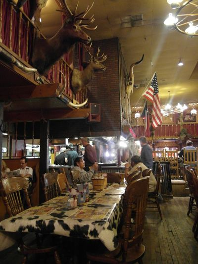 Big texan restaurant
