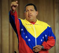 Why was hugo chavez so popular?
